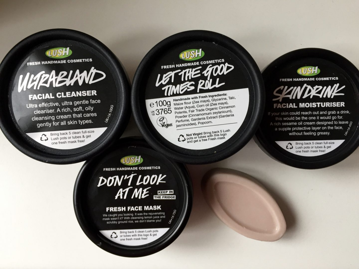 Lush Winter Skincare
