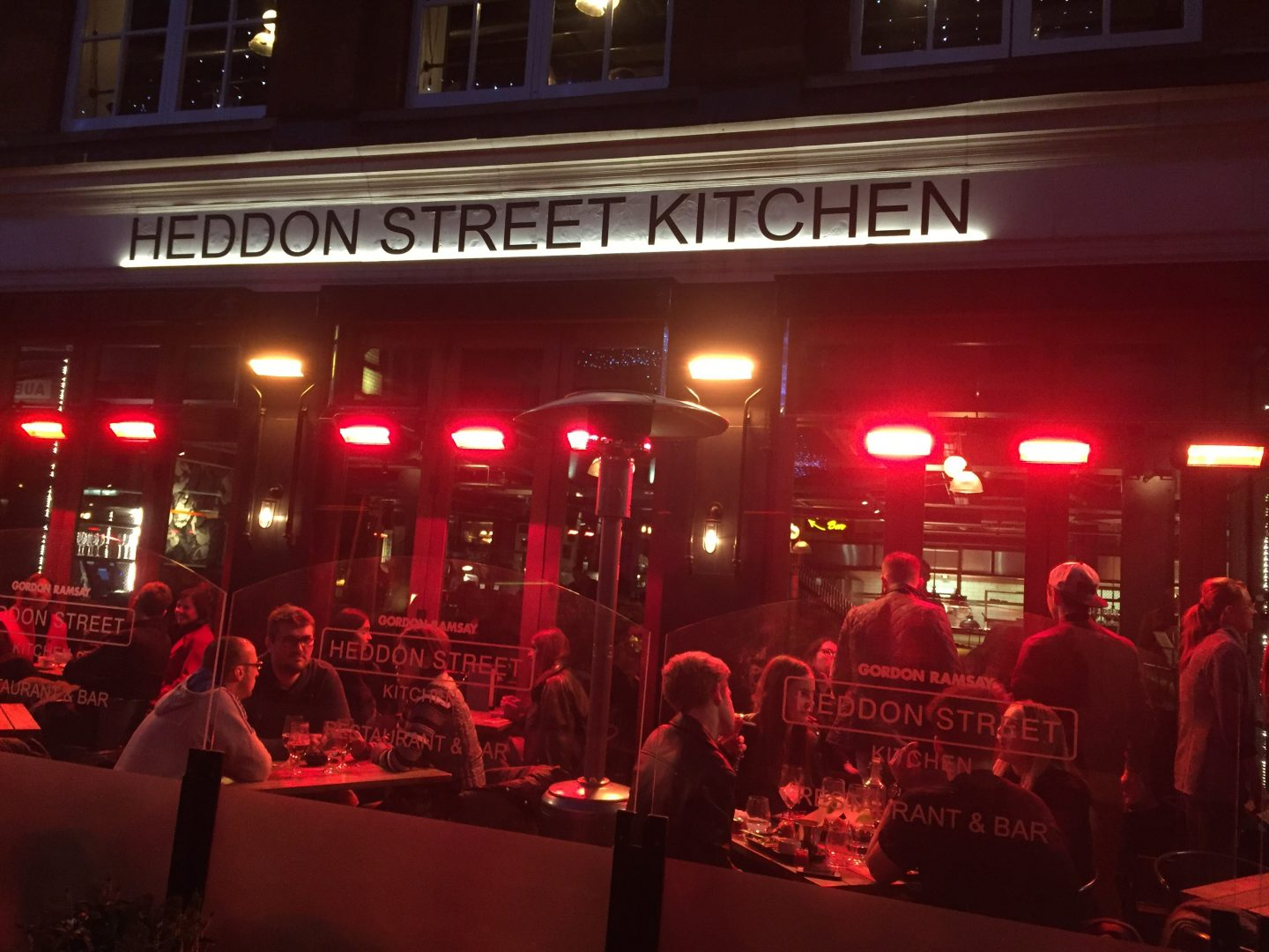 Dinner at Heddon Street Kitchen