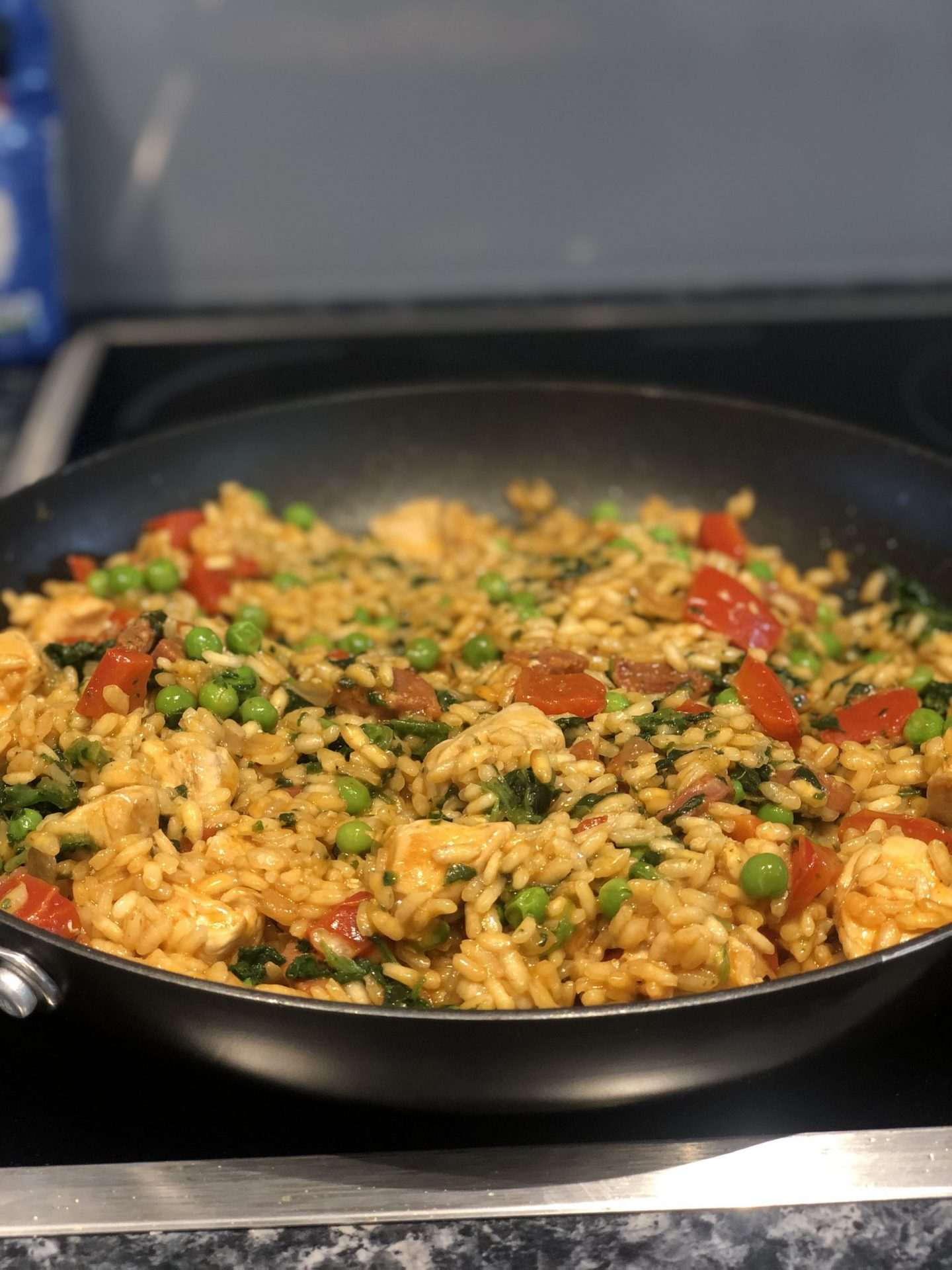 Foodie Friday – Easy Chicken and Chorizo Paella